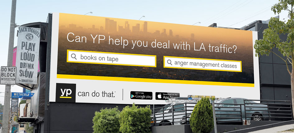YP billboard