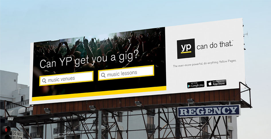 YP billboard second